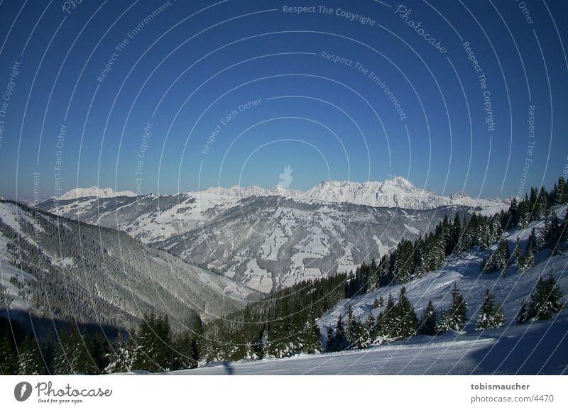 Sun Winter Snow Mountain