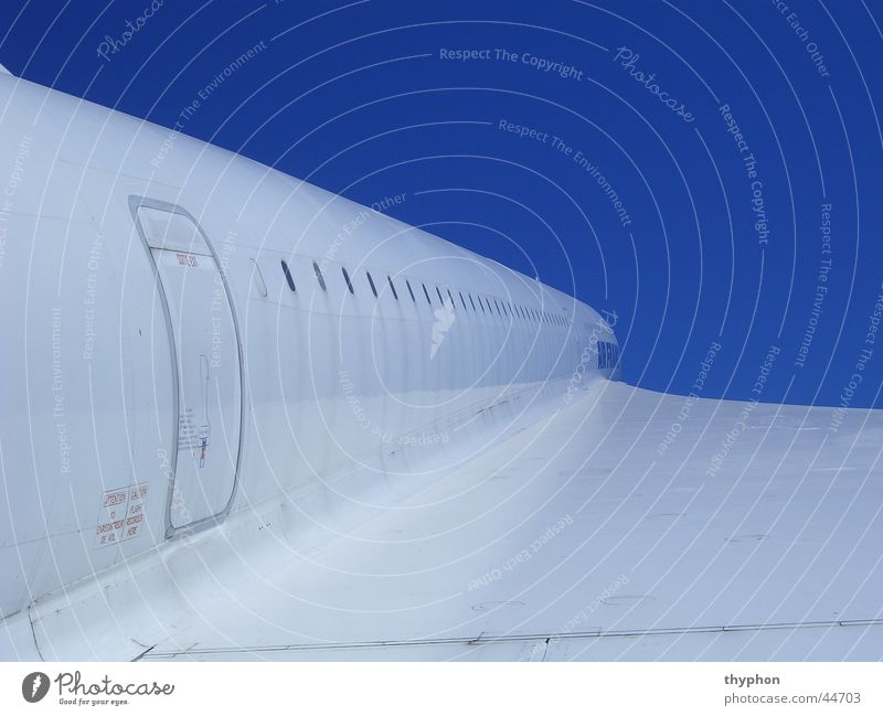 White Blue Airplane Door Perspective Aviation Wing Concorde Supersonic aircraft