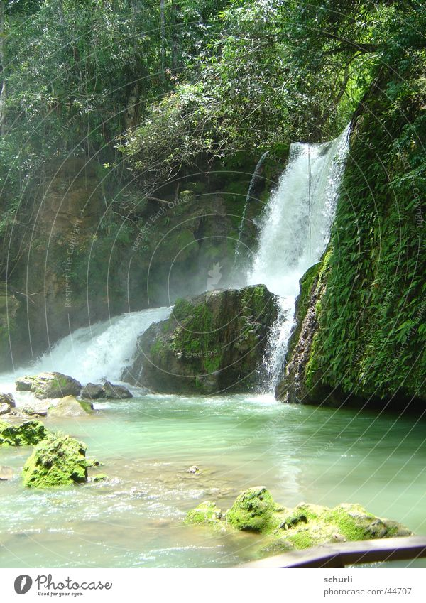 Water Beautiful Vacation & Travel Waterfall Jamaica