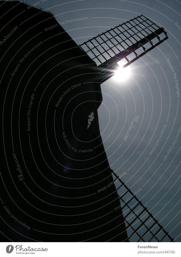 True Story of Don Quixote Windmill Back-light Historic Mill Dazzle Electrical equipment Technology quichote Bavenhausen Wing Sun