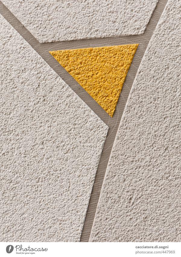 aperitif Aperitif Glass Architecture Facade Thong Stone Line Triangle Simple Eroticism Funny Curiosity Feminine Yellow Gray White Moody Anticipation Elegant Art