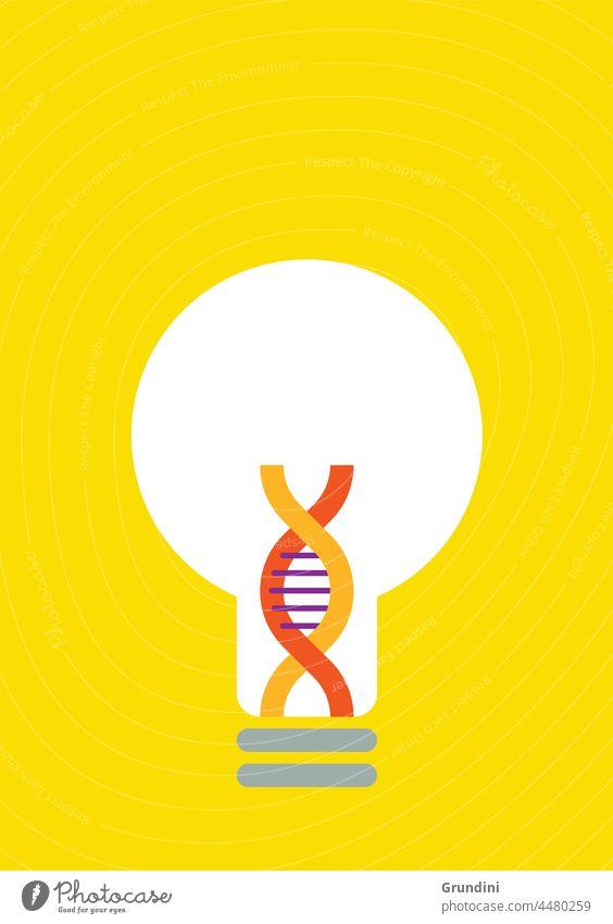 Lightbulb moment Illustration Lifestyle DNA Ideas Inspiration