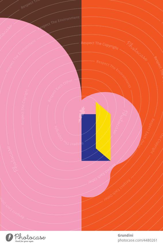 Hearing better 2 Illustration Lifestyle Ear Face Door