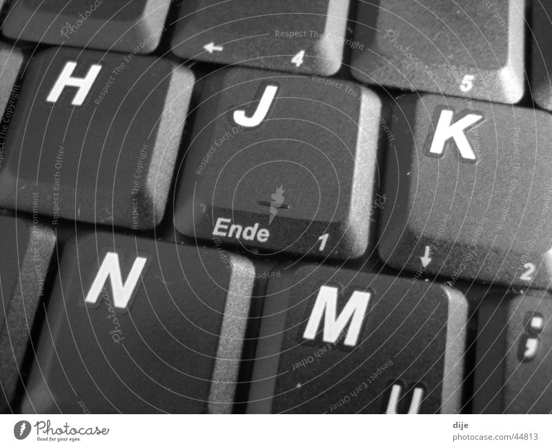 - END Letters (alphabet) Digits and numbers Man End Write Keyboard Business