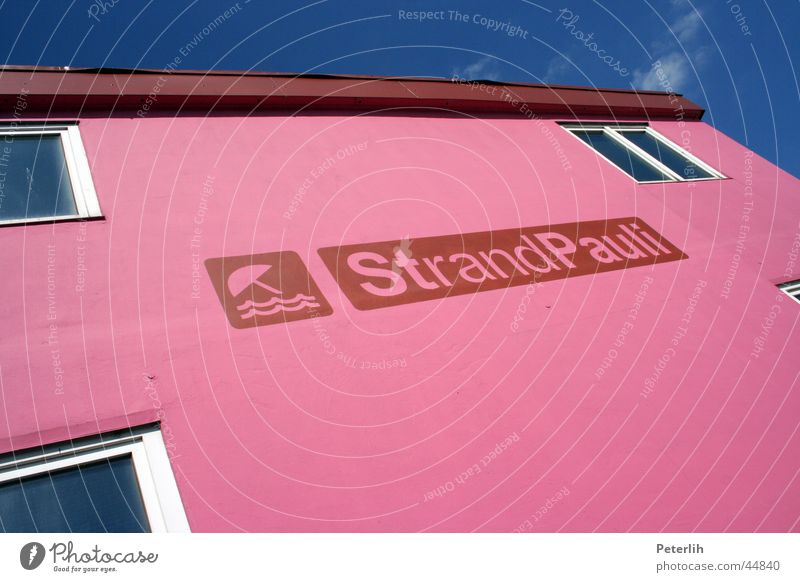 Sky Blue Sun Joy Summer Beach Relaxation Pink Hamburg Club