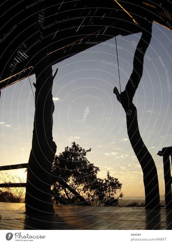 South Africa Sunrise Sunset sunrise bush holiday