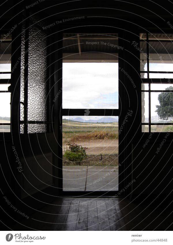 Abandon farm house South Africa Ceres Western Cape Architecture Farm Door Window Open Uninhabited Deserted Calm