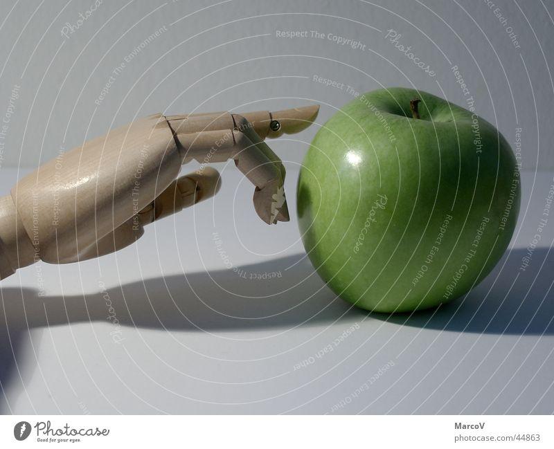 Hand Green Nutrition Wood Fruit Apple Paradise