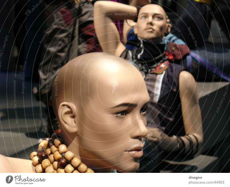 Woman Man Feminine Model Mannequin