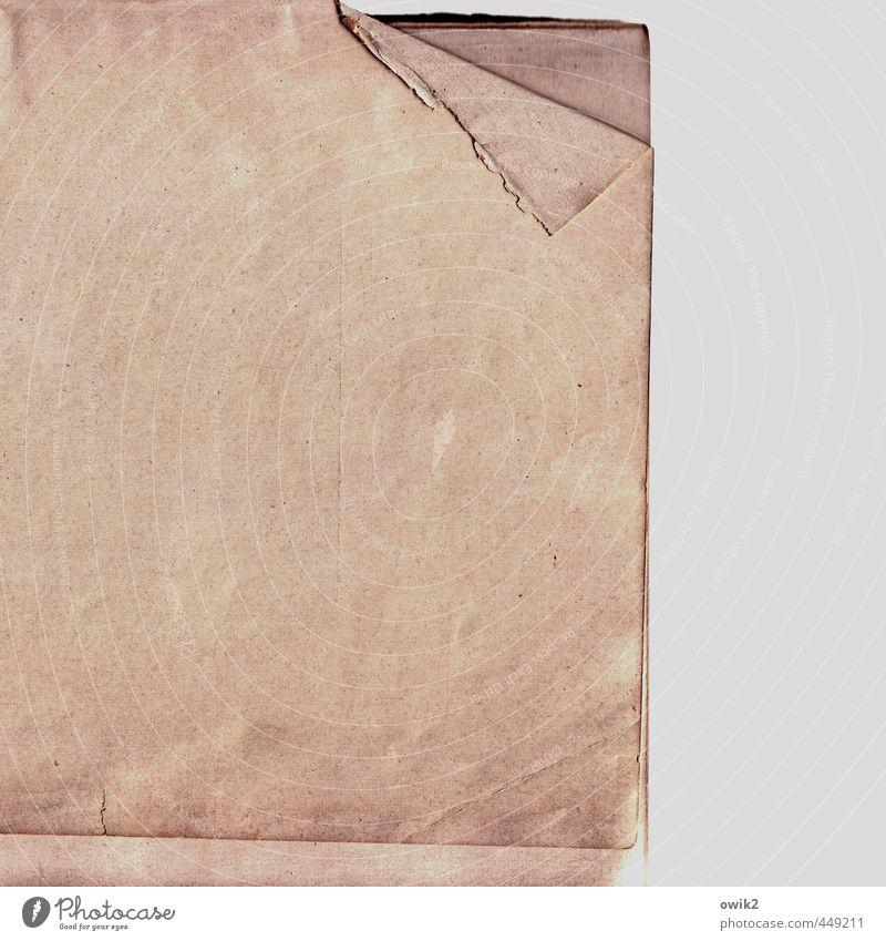 Old Gray Pink Gloomy Broken Simple Corner Paper Copy Space Wrinkles Edge Sharp-edged Bend Simplistic Waste paper