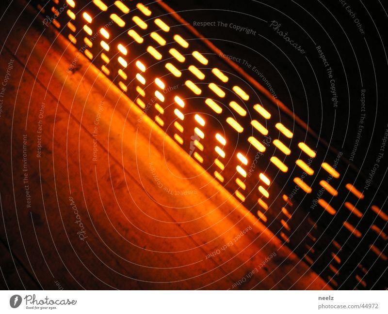 orange-light Light Wood Diagonal Night Lamp Floor covering Artificial light Braunschweig Industry Orange Float station