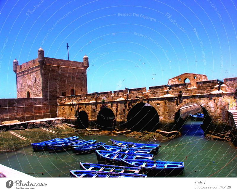 Water Sky Ocean Watercraft Bridge Harbour Moral Morocco