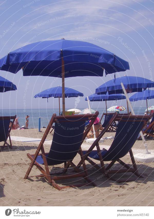 Sun Ocean Beach Italy Couch Basket