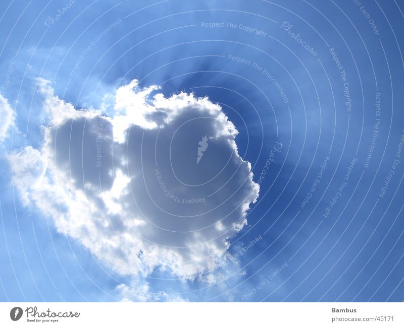 Sky Sun Blue Clouds Concealed