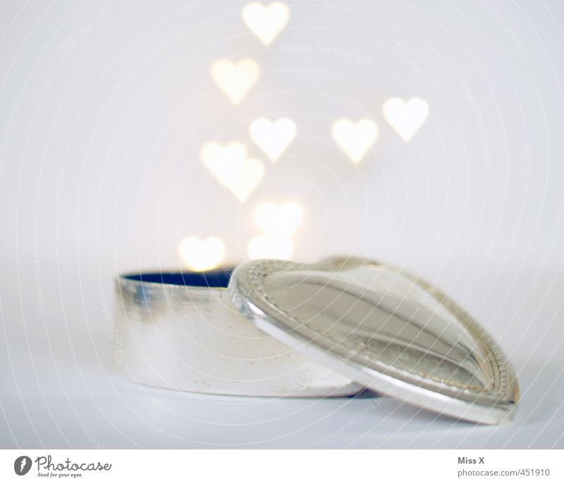 Love Emotions Moody Flying Illuminate Heart Wedding Romance Infatuation Silver Tin Undo Valentine's Day Marriage proposal Heart-shaped Display of affection