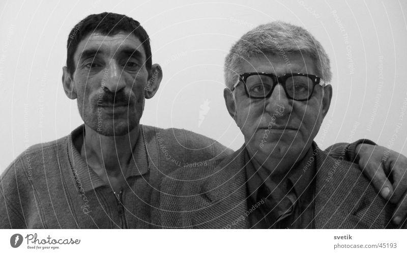 Man Friendship 2 Funny Azerbaijan Gray scale value Duet Inseparable Baku