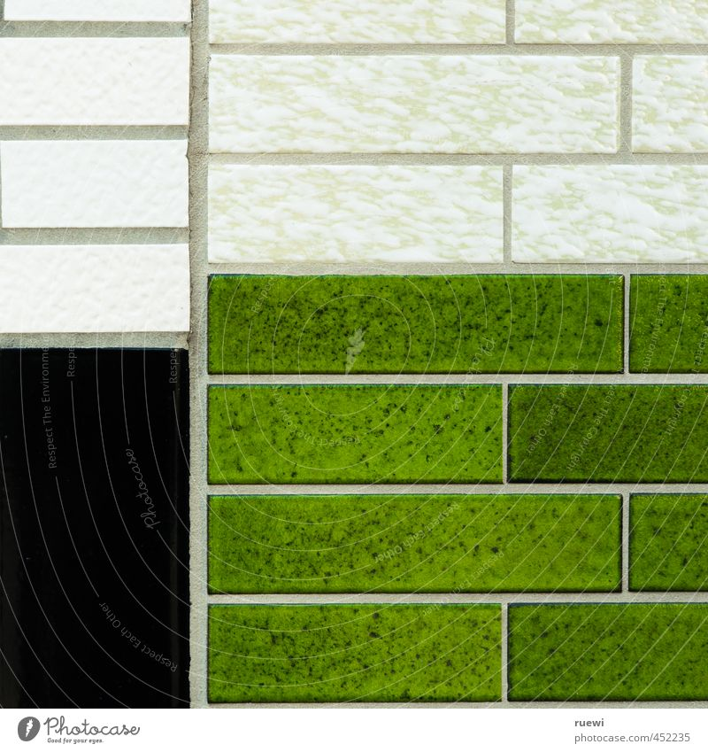 City Green House (Residential Structure) Black Wall (building) Wall (barrier) Architecture Stone Line Art Facade Living or residing Modern Decoration Esthetic