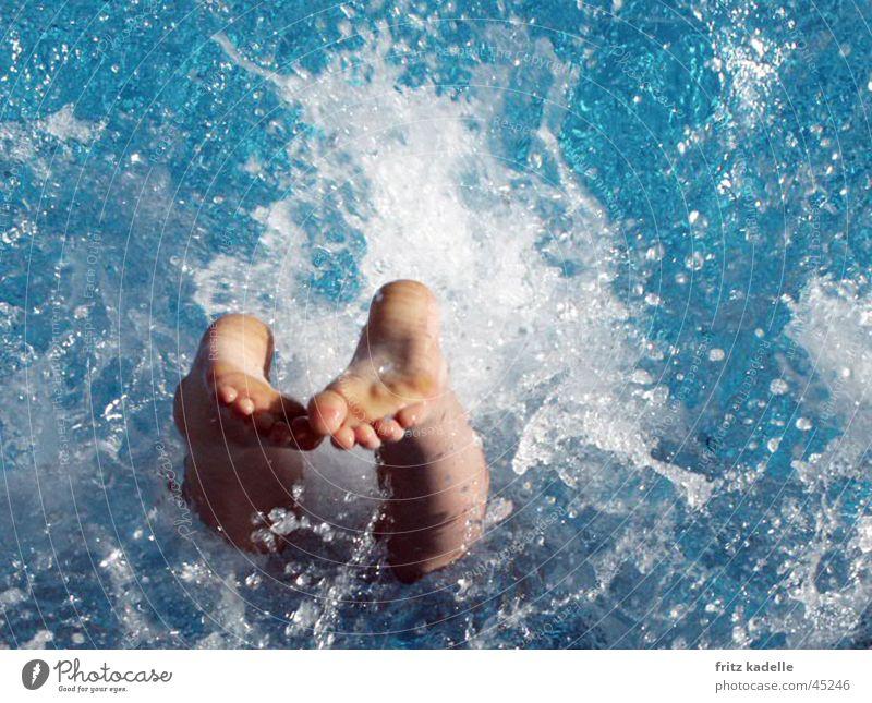 splash Refreshment headrung Water Swimming & Bathing Blue