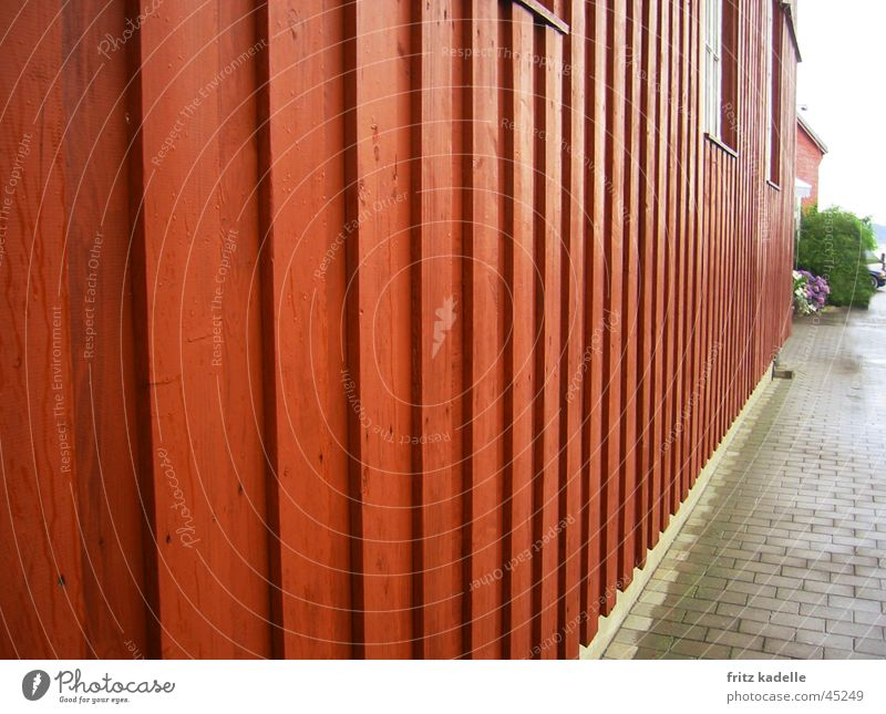 Red House Wood House (Residential Structure) Architecture Sweden