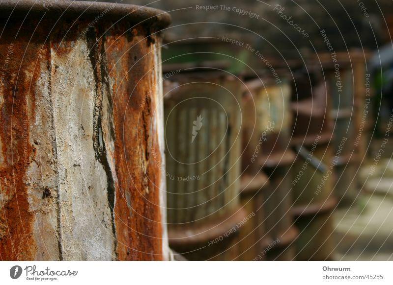 Old Brown Dirty Things Rust Row Keg