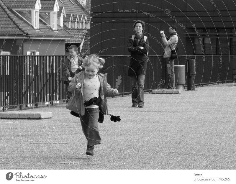 Woman Child Girl Joy Happy Walking