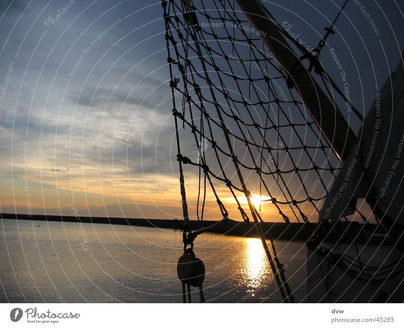 Water Sun Ocean Clouds Watercraft Sailing Netherlands