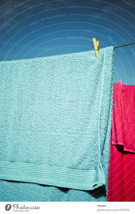 Summer Warmth Swimming & Bathing Pink Flat (apartment) Living or residing Hang Laundry Dry Clothesline Towel Cyan Holder Clothes peg