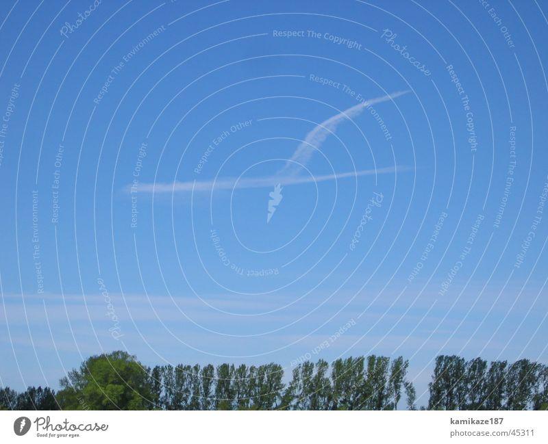 lufthansa Clouds Airplane Crane Sky