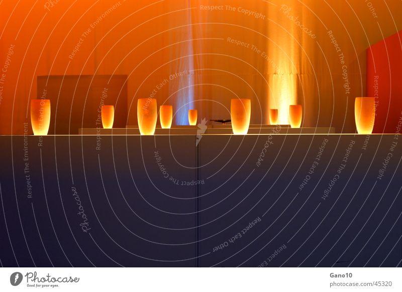 Lamp Lighting Orange Living or residing Vase Mood lighting