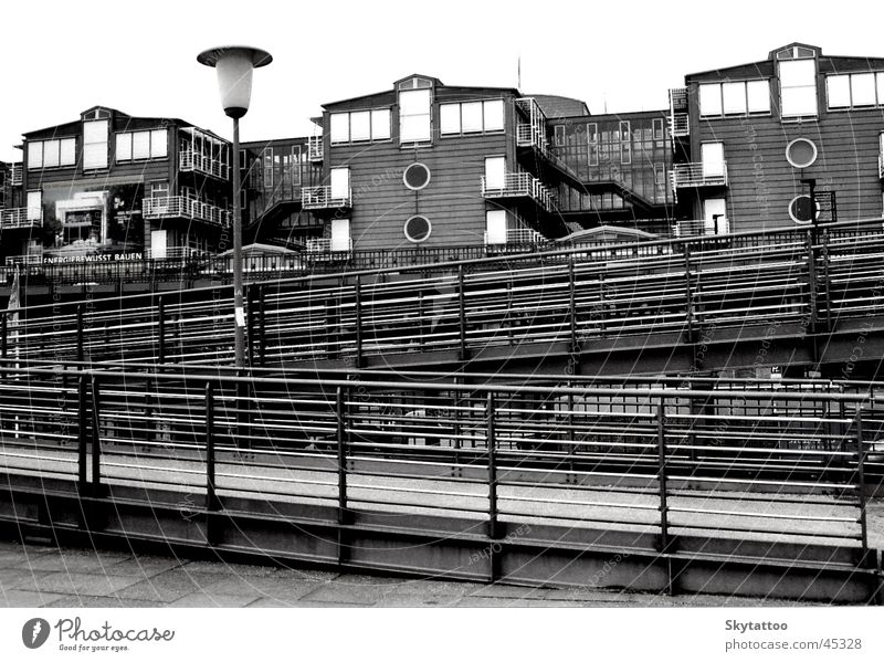House (Residential Structure) Architecture Hamburg Handrail