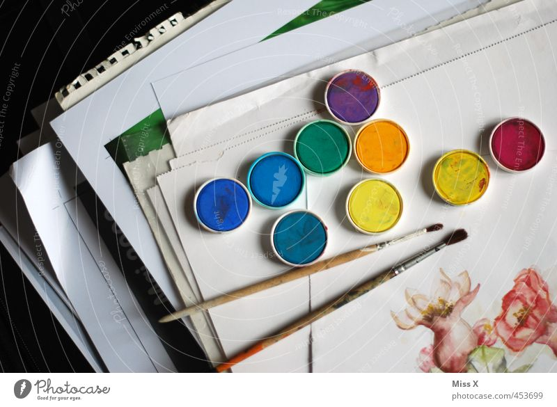 Colour Dye Art Leisure and hobbies Paper Creativity Painting (action, artwork) Painting and drawing (object) Artist Paintbrush Stack Work of art Painter