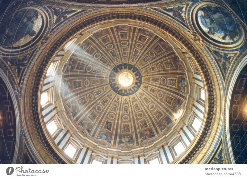 Religion and faith Dome Rome Domed roof Vatican St. Peter's Cathedral