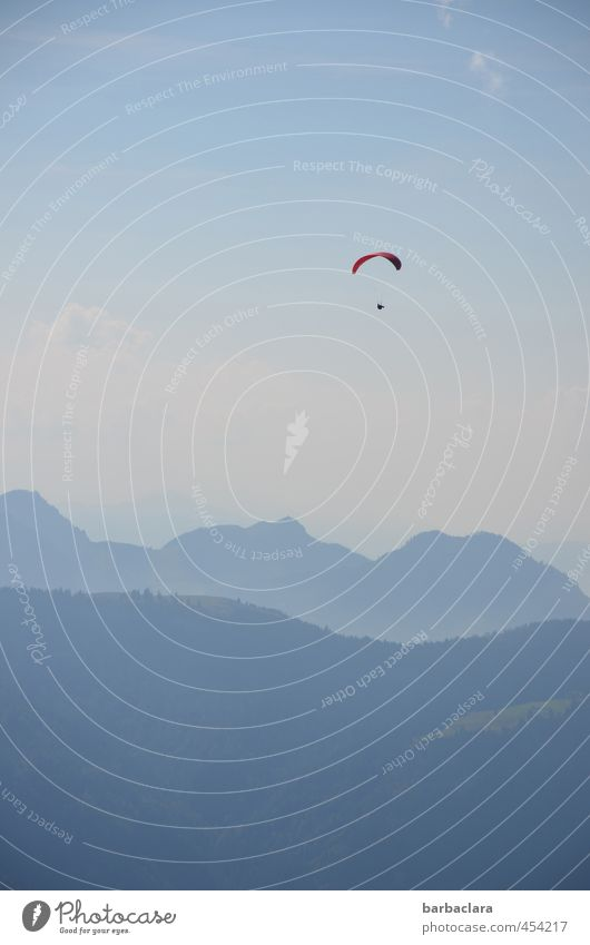 200, that gives you wings. Sports Paragliding Paraglider Environment Nature Landscape Elements Earth Air Sky Summer Beautiful weather Alps Mountain Flying Free