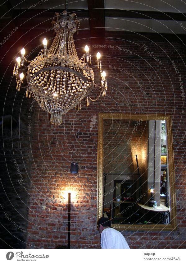Mirror Brick Ambient Candlestick