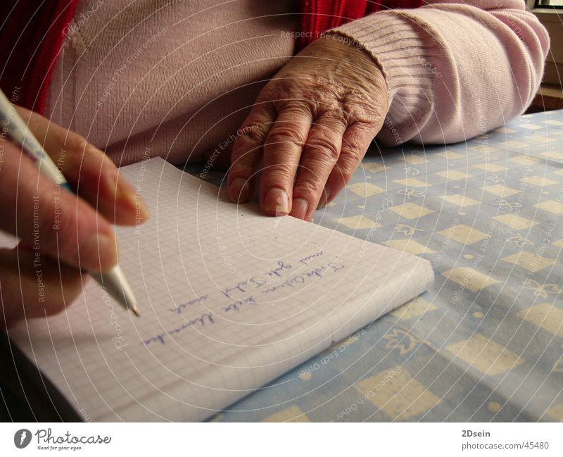 Human being Hand Senior citizen Grandmother Family & Relations Grandparents Female senior