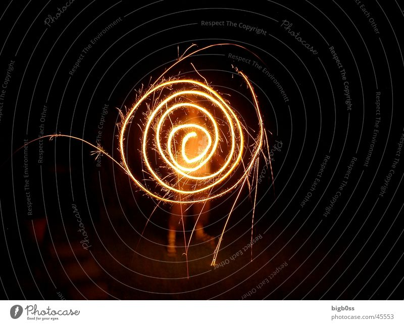 luminous spiral Spiral Long exposure 1st of August Spark stlye bigb0ss