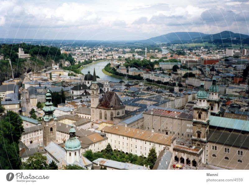 Salzburg Town Austria Europe