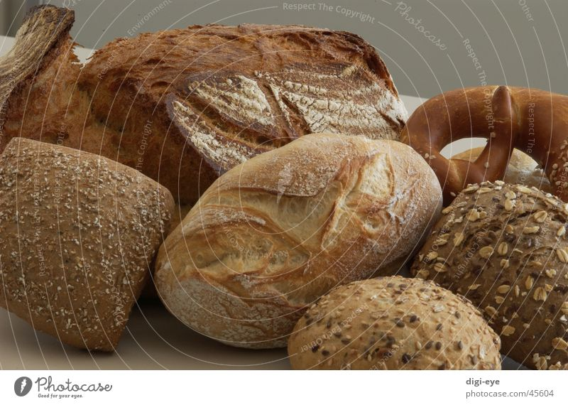 pastries Baked goods Pretzel Roll Grain Bread Nutrition