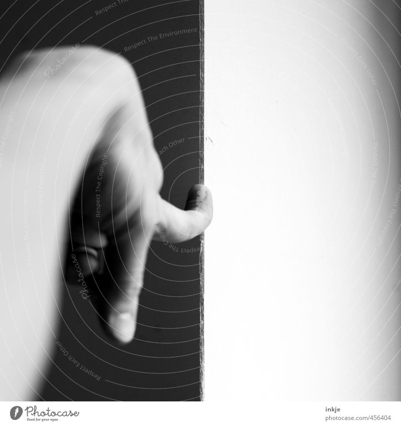That's black and white and gray right there. Life Hand Fingers 1 Human being Line Border Edge Corner Black White Divide Indicate Forefinger Pressure-resistant