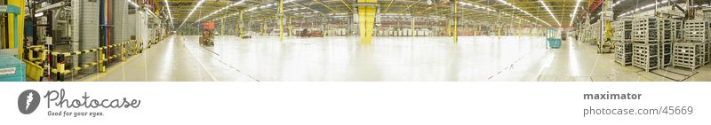 Large Industry Machinery Warehouse Factory hall Panorama (Format) Production Work of art Processing plant Assembly shop