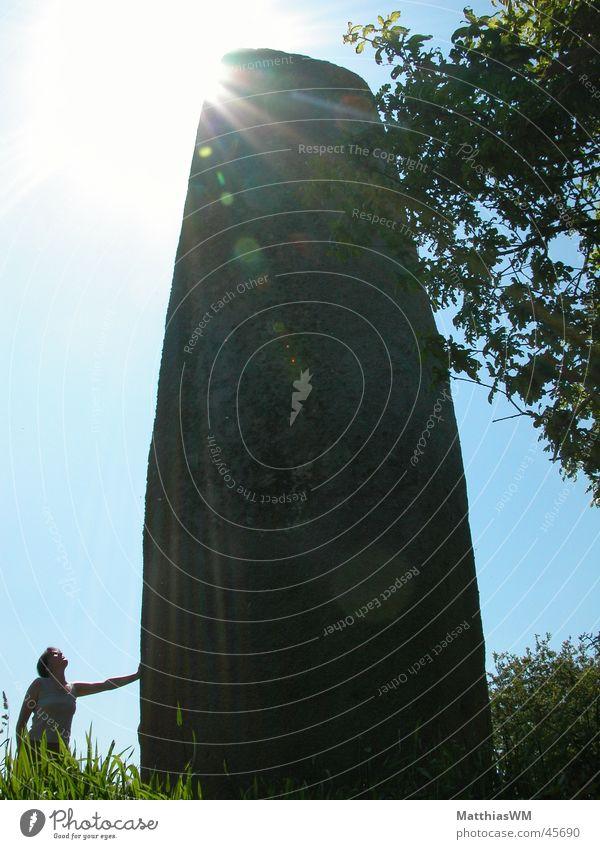 Stone Europe France Past Mystic Brittany Archeology Menhir Menhir Kerloac