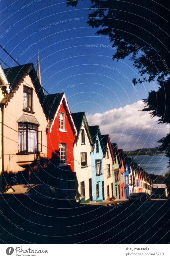 House (Residential Structure) Architecture Perspective Ireland Town house (Terraced house) Fishing village