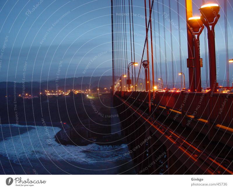 Water Bridge California San Francisco Golden Gate Bridge
