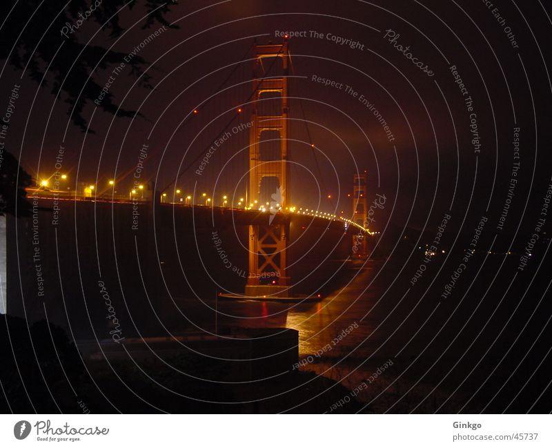Water Bridge San Francisco Golden Gate Bridge
