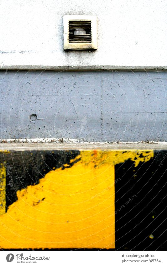 Black Yellow Gray Industry Corner Shaft Ventilation Loading ramp