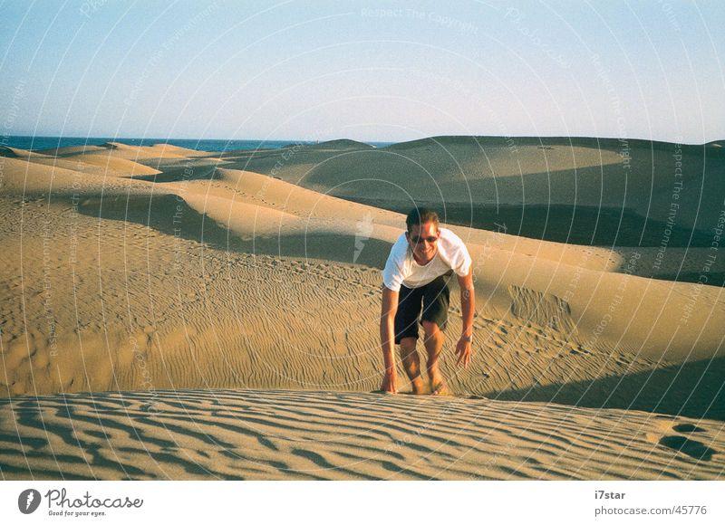 I'm walking Europe Grand Canary Desert Sand Thirst