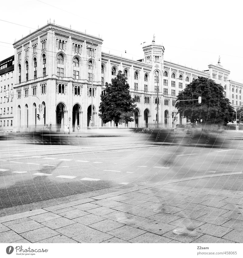 munich Lifestyle Tourism Sightseeing City trip Architecture Town Old town Pedestrian precinct Populated House (Residential Structure) Building