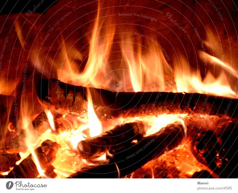 fiery Open fire Photographic technology Blaze