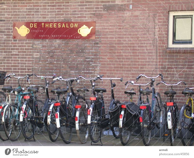 parking space Netherlands Haarlem Bicycle Bicycle lot Vacation & Travel Transport