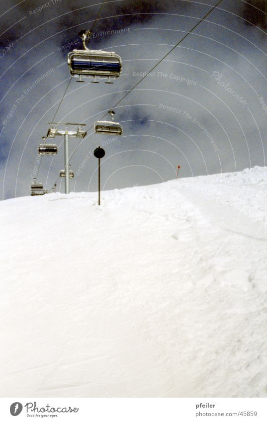 Winter Snow Mountain 3 Winter sports Ski run Chair lift
